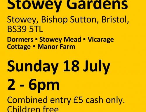 Stowey NGS Gardens Open